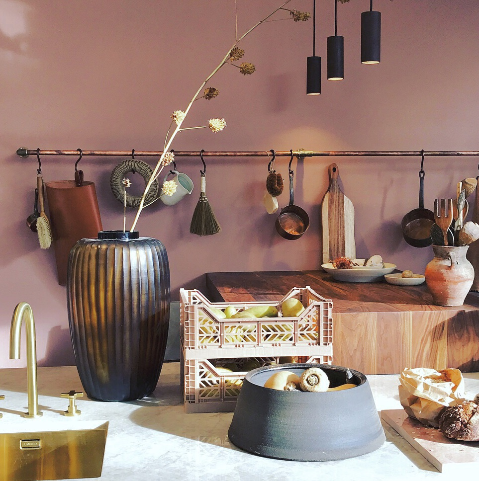 Pastel kleur interieur keuken roze vt wonen marije dijkstra